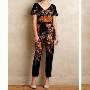 Moulinette Soeurs silk floral jumpsuit